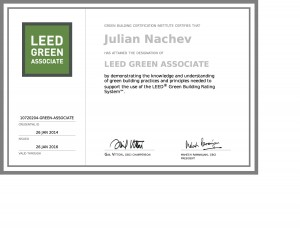 Julian-LEED Green Associate